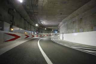 photo, la mati�re, libre, am�nage, d�crivez, photo de la r�serve,Le tunnel de l'autoroute M�tropolitaine, tunnel, autoroute, lumi�re, coin