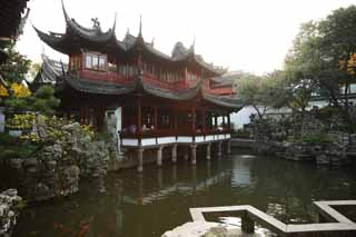photo, la mati�re, libre, am�nage, d�crivez, photo de la r�serve,Mt. YuGarden commandent le temple, Joss logent le jardin, , Style de la nourriture chinois, B�timent chinois