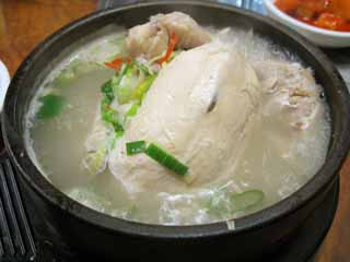 photo,material,free,landscape,picture,stock photo,Creative Commons,Sam Gyetang, Korean food, , Dishes prepared with medicinal herbs, Soup