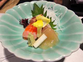 photo, la mati�re, libre, am�nage, d�crivez, photo de la r�serve,Sashimi, Nourriture japonaise, saumon, , Wasabi