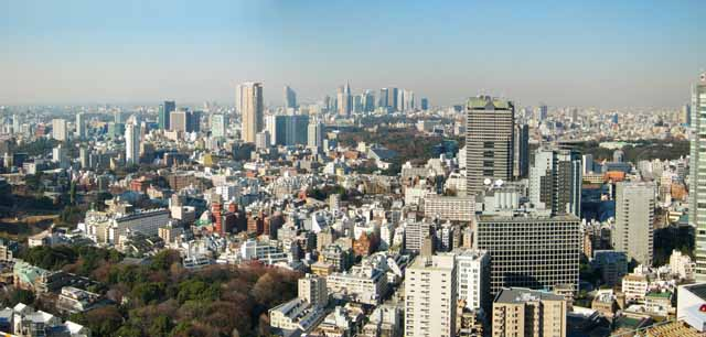 photo, la mati�re, libre, am�nage, d�crivez, photo de la r�serve,Panorama de Tokyo, construire, Shinjuku, Un appartement, TB