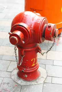 photo,material,free,landscape,picture,stock photo,Creative Commons,A fire hydrant, Firefighting, fire, Red,