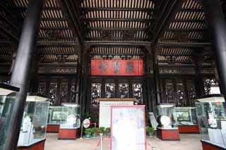 photo, la mati�re, libre, am�nage, d�crivez, photo de la r�serve,Temple de clan Chen, B�timent des arts industriel priv� chinois, murez la sculpture, noble du sud, D�cor