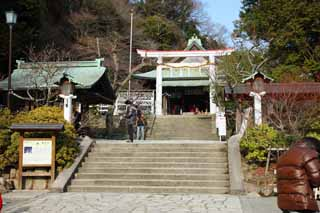 photo, la mati�re, libre, am�nage, d�crivez, photo de la r�serve,Kamakura-gu Temple, Temple shinto�ste, L'empereur Meiji, Kamakura, Masashige Kusuki