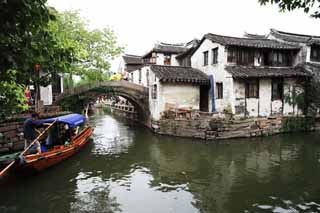 photo,material,free,landscape,picture,stock photo,Creative Commons,Zhouzhuang Taiheibashi, , , ,