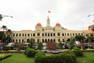 photo,material,free,landscape,picture,stock photo,Creative Commons,Ho Chi Minh City People's Committee Office Building, , , ,