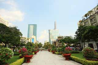 photo,material,free,landscape,picture,stock photo,Creative Commons,Nguyen Hue Street, , , ,