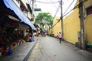photo,material,free,landscape,picture,stock photo,Creative Commons,Hanoi's Old Quarter, , , ,