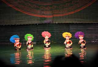 photo,material,free,landscape,picture,stock photo,Creative Commons,Water Puppet Theatre, , , ,