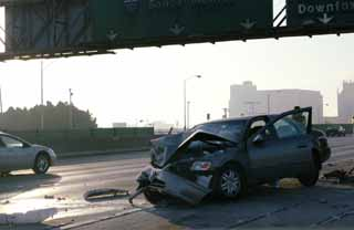 photo,material,free,landscape,picture,stock photo,Creative Commons,Crash, expressway, automobile, freeway, Los Angeles