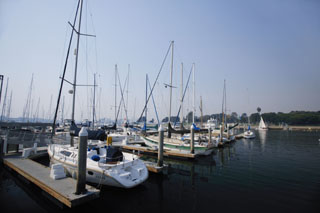photo,material,free,landscape,picture,stock photo,Creative Commons,Afternoon yacht harbor, yacht, sea, port, mast