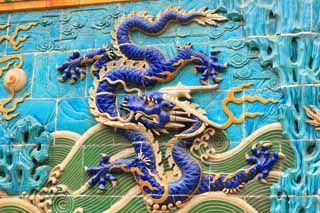 photo,material,free,landscape,picture,stock photo,Creative Commons,Beihai Park Kowloon wall, , , ,