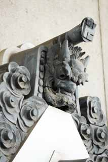 photo,material,free,landscape,picture,stock photo,Creative Commons,Asakusa Kannon Temple Gargoyle, , , ,