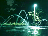 photo,material,free,landscape,picture,stock photo,Creative Commons,Night fountain, , , ,
