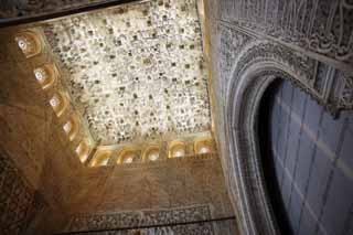 photo,material,free,landscape,picture,stock photo,Creative Commons,Alhambra Palace and the Royal, , , ,