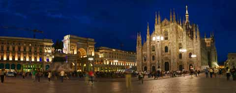 photo, la mati�re, libre, am�nage, d�crivez, photo de la r�serve,Vue sur la cath�drale Duomo de Milan, , , ,