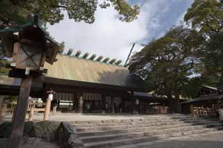 photo, la mati�re, libre, am�nage, d�crivez, photo de la r�serve,Temple Atsuta-jingu, Temple shinto�ste, Pri�re, Shinto�sme, Religion