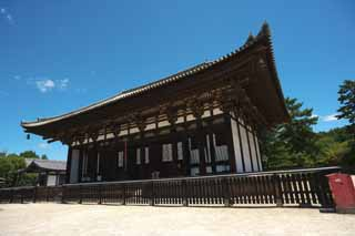 photo,material,free,landscape,picture,stock photo,Creative Commons,Kofuku-ji Temple Togane temple, Buddhism, wooden building, roof, world heritage