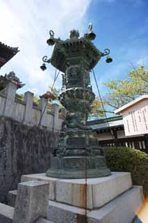 photo,material,free,landscape,picture,stock photo,Creative Commons,Kompira-san Shrine garden lantern, garden lantern, , ,