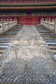 photo,material,free,landscape,picture,stock photo,Creative Commons,Forbidden City's body, Hitoshi Pavilion, The wooden building, , Palace, Tile roof