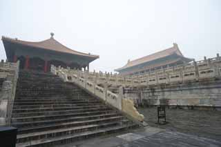 photo,material,free,landscape,picture,stock photo,Creative Commons,Forbidden City neutralization of the buttocks, The wooden building, Hua cover the buttocks, Palace, Stairs