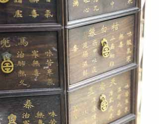 photo,material,free,landscape,picture,stock photo,Creative Commons,A medicine chest, Chinese medicine, Medicine, Poison, Oriental medicine