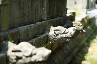 photo,material,free,landscape,picture,stock photo,Creative Commons,Ming Xiaoling Mausoleum Toru foundation stone, Tomorrow morning, stone pillar, The first emperor, world heritage