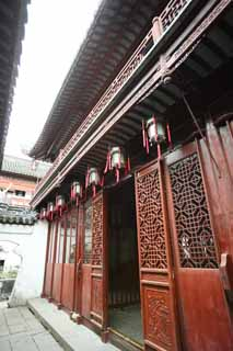 photo, la mati�re, libre, am�nage, d�crivez, photo de la r�serve,Mt. Yuyuan Garden temple de l'ordre, Joss logent le jardin, , Style de la nourriture chinois, B�timent chinois