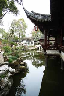 photo, la mati�re, libre, am�nage, d�crivez, photo de la r�serve,Mt. Yuyuan Garden temple de l'ordre, Joss logent le jardin, , Style de la nourriture chinois, �tang
