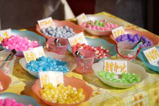 photo,material,free,landscape,picture,stock photo,Creative Commons,A stand of the candy, cake, candy, Candy, I measure it and sell