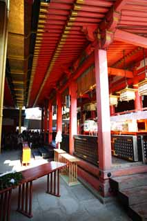 photo, la mati�re, libre, am�nage, d�crivez, photo de la r�serve,Fushimi-Inari Taisha Temple temple principal, lanterne de jardin, Je suis peint en rouge, Argent, renard