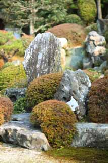 photo,material,free,landscape,picture,stock photo,Creative Commons,Tofuku-ji Temple founder's shrine garden, Chaitya, Japanese garden, rock, The mugwort shell hills and rivers