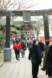 photo, la mati�re, libre, am�nage, d�crivez, photo de la r�serve,Temple Eshima temple Okutsu, torii, Temple shinto�ste, , Ozunu Enno