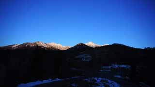 photo, la mati�re, libre, am�nage, d�crivez, photo de la r�serve,Yatsugatake vue enti�re, Yatsugatake, montagne hivernale, Escalade, La neige