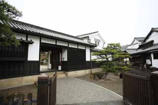 photo, la mati�re, libre, am�nage, d�crivez, photo de la r�serve,Kurashiki Kurashiki b�timent de l'histoire, Culture traditionnelle, Le pl�tre, Japonais fait une culture, L'histoire