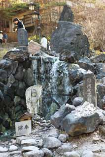 photo,material,free,landscape,picture,stock photo,Creative Commons,A riverbank of the Kusatsu hot spring west, Acala, hot spring, Buddhism, Buddhist service for miscarried children