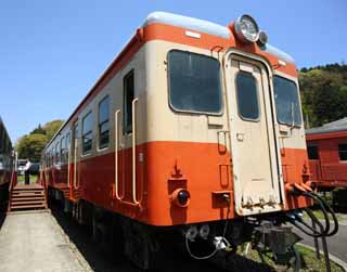 photo, la mati�re, libre, am�nage, d�crivez, photo de la r�serve,Un type public ferroviaire train diesel, voie ferr�e, Une orange, connecteur, voyageur